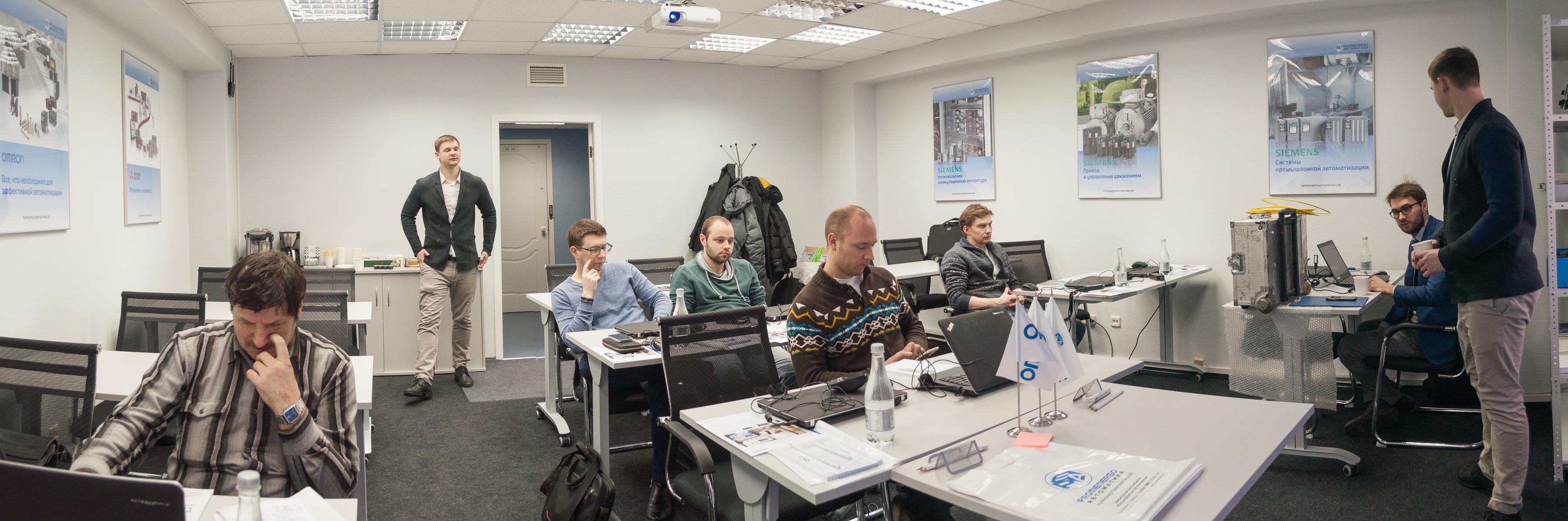 Обучение программированию Omron NX1