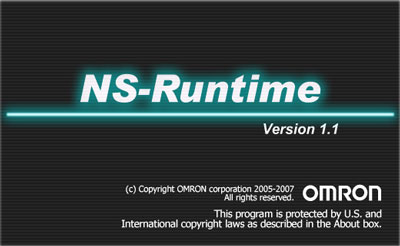 Omron NS Runtime PC