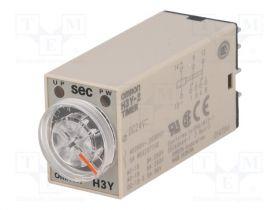 OMRON H3Y-4 DC24 0.5S OMI