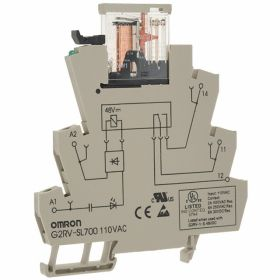 OMRON G2RV-SR500 AC100 BY OMB