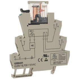 OMRON G2RV-SR500-AP AC/DC48 BY OMB